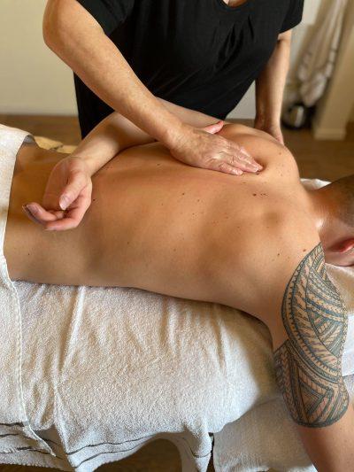Nek schouder rug massage zeeland
